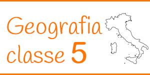 Geografia classe quinta