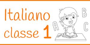 Italiano classe prima