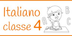 Italiano classe quarta