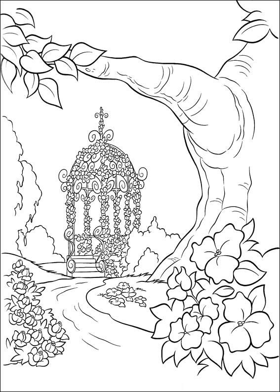 Disegno di Cenerentola da colorare 26
