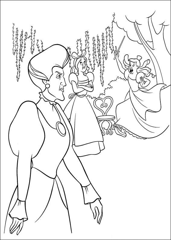 Disegno di Cenerentola da colorare 28