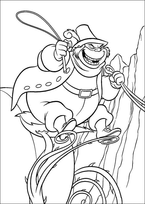 Disegno di Cenerentola da colorare 84
