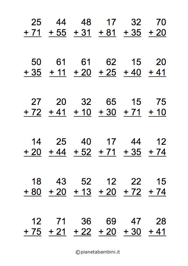 Addizioni-2-Cifre-Senza-Riporto
