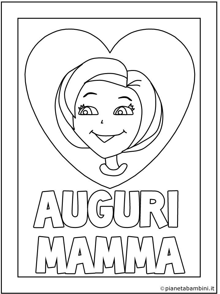40 Disegni Per La Festa Della Mamma Da Colorare Pianetabambiniit