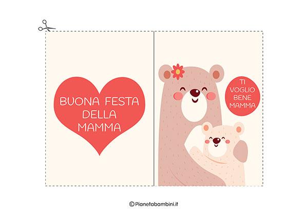 Immagine del biglietto di auguri per la festa della mamma da stampare n.02