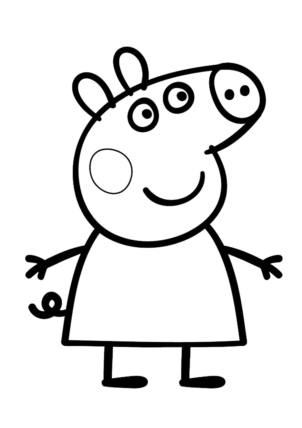 54 Disegni Di Peppa Pig Da Colorare Pianetabambini It