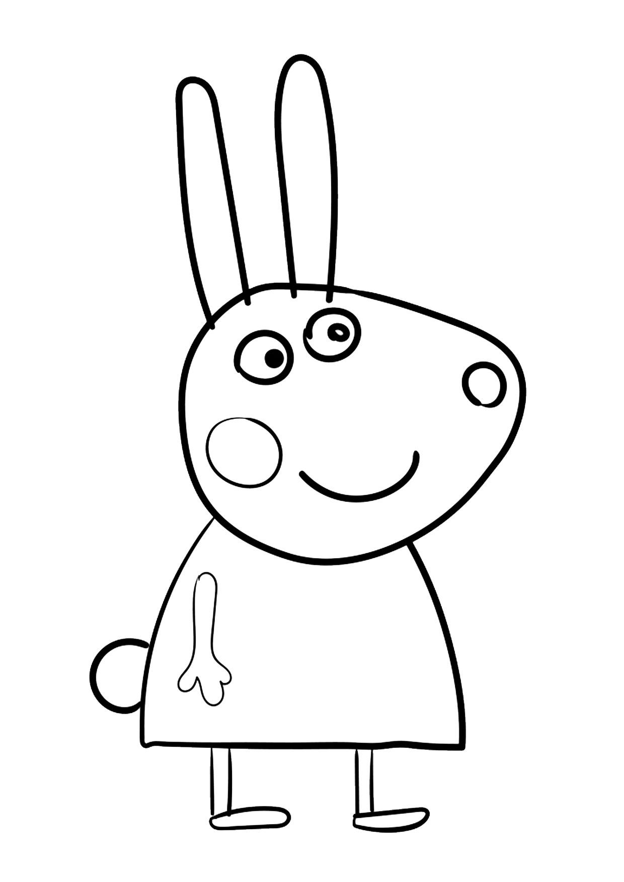 Disegno Peppa Pig da colorare 08