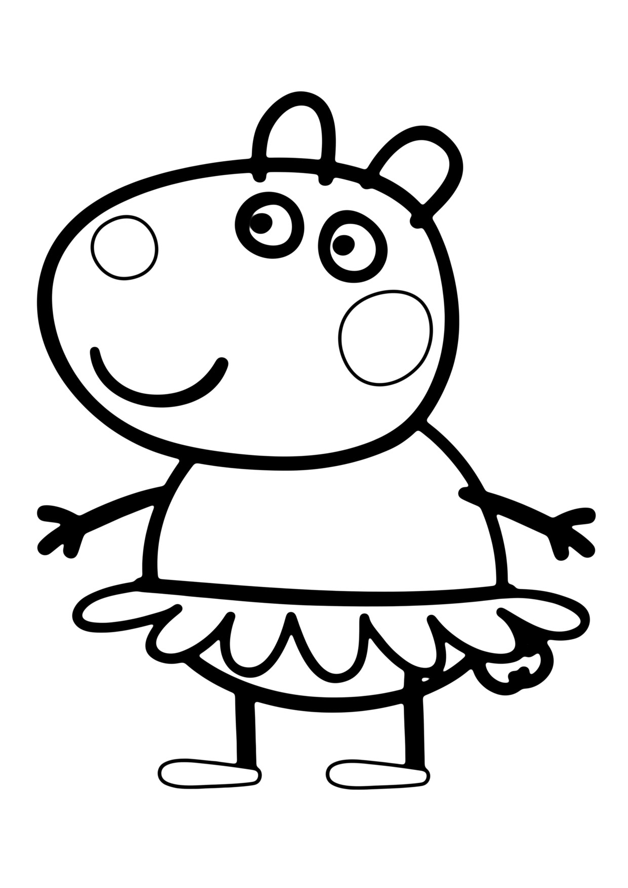 Disegno Peppa Pig da colorare 15