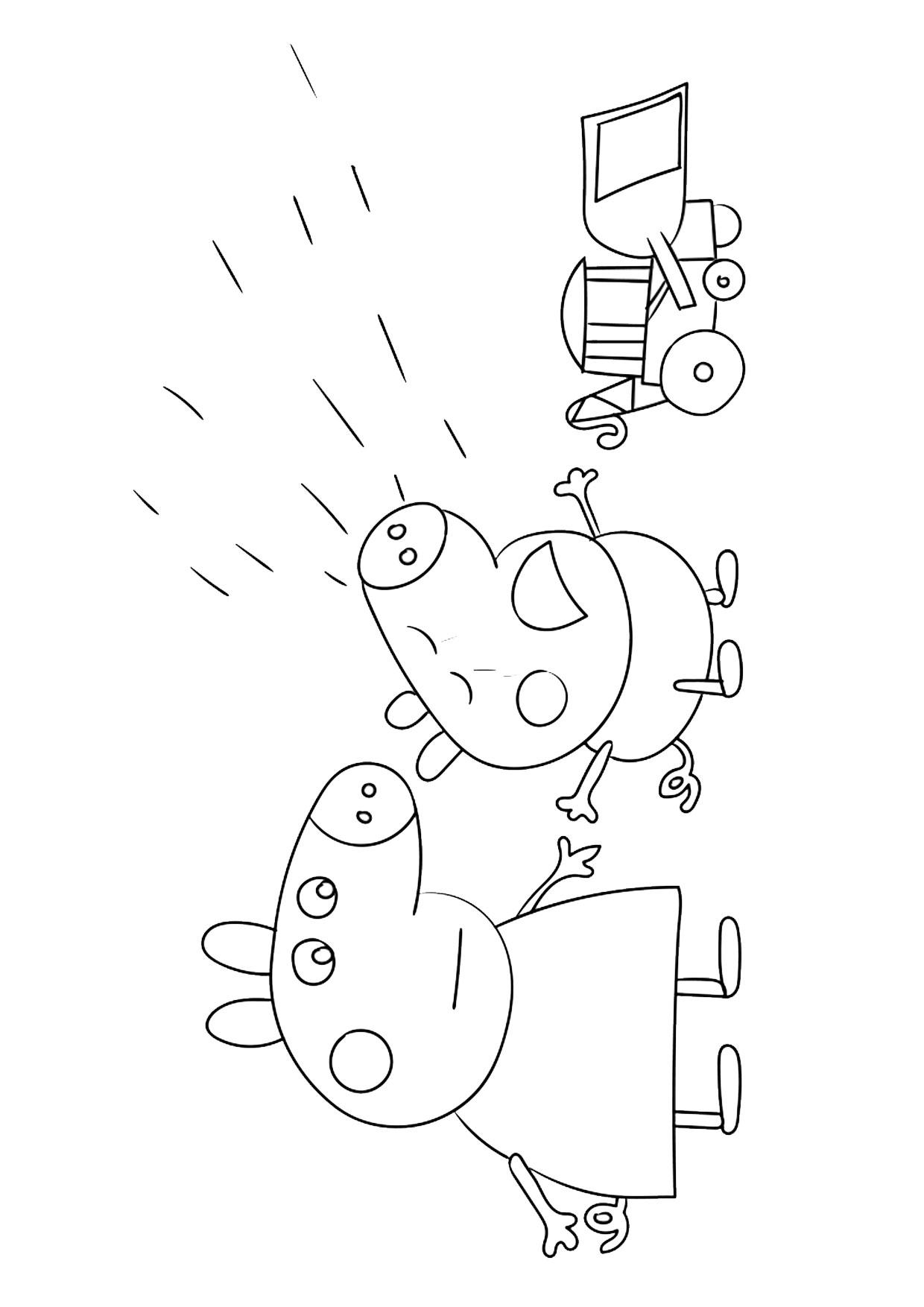 Disegno Peppa Pig da colorare 22