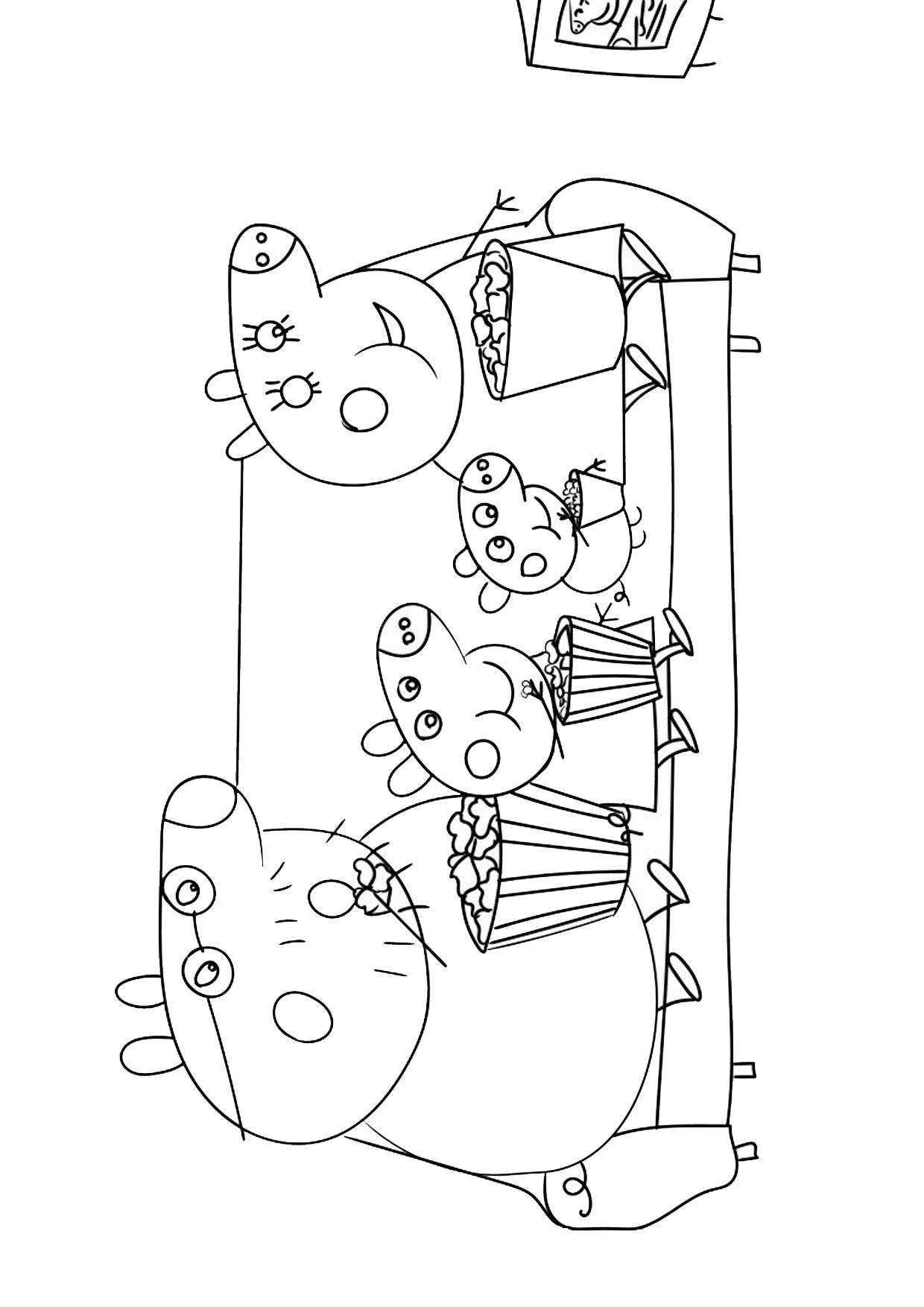 Disegno Peppa Pig da colorare 27