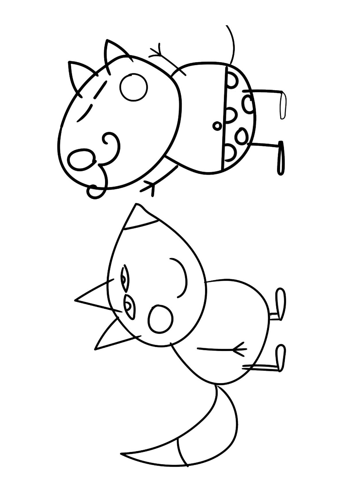 Disegno Peppa Pig da colorare 30