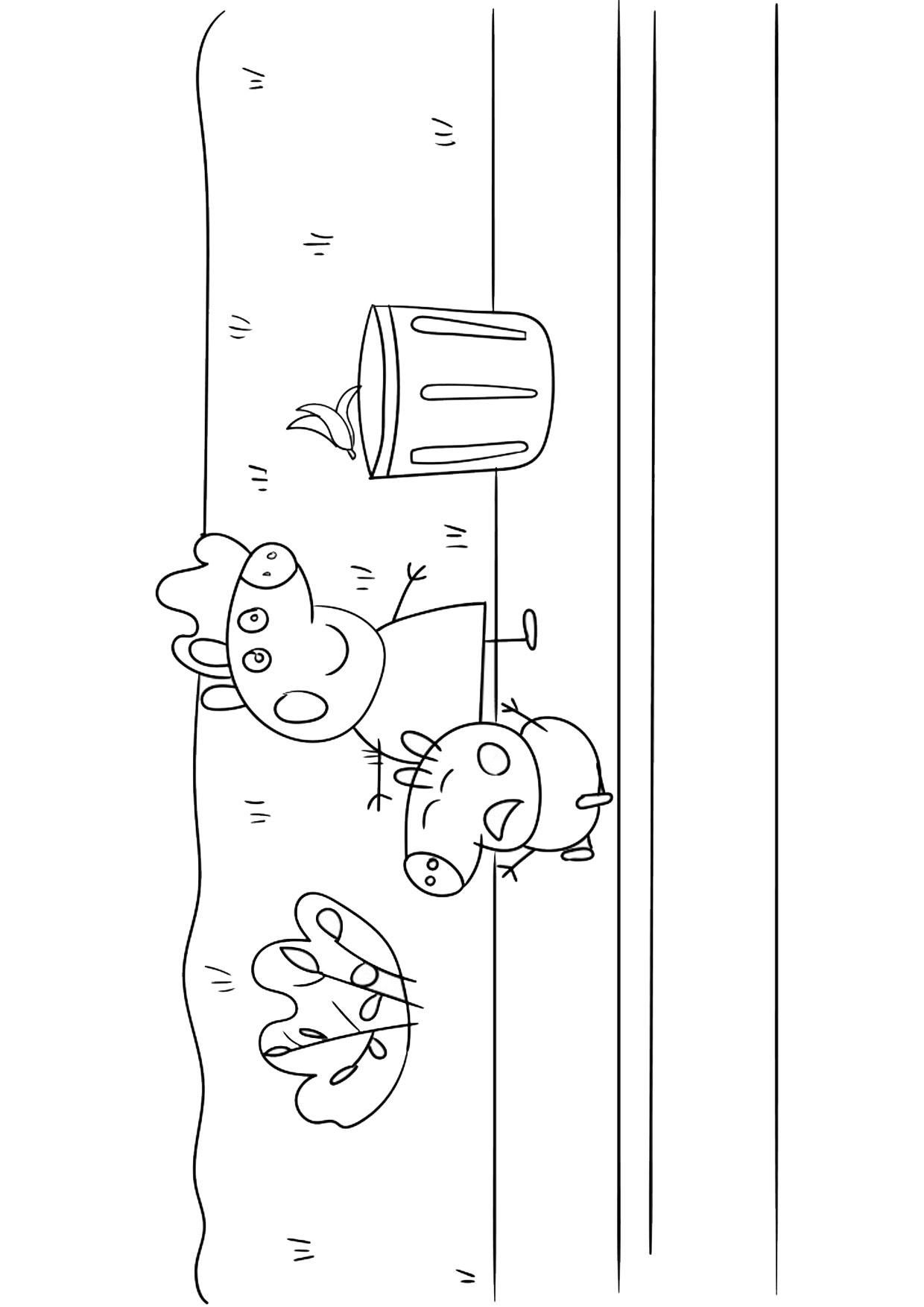 Disegno Peppa Pig da colorare 35