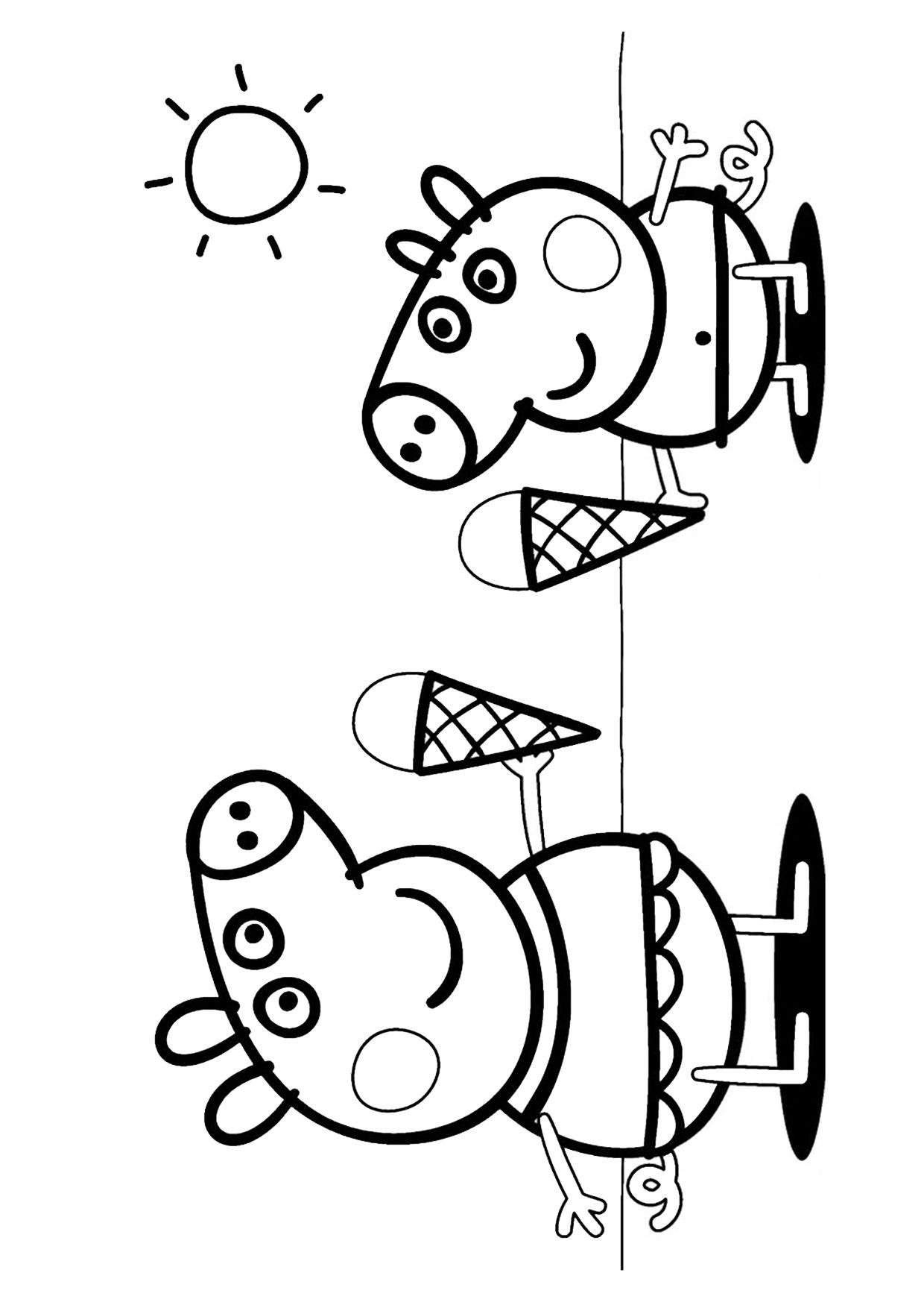 Disegno Peppa Pig da colorare 36