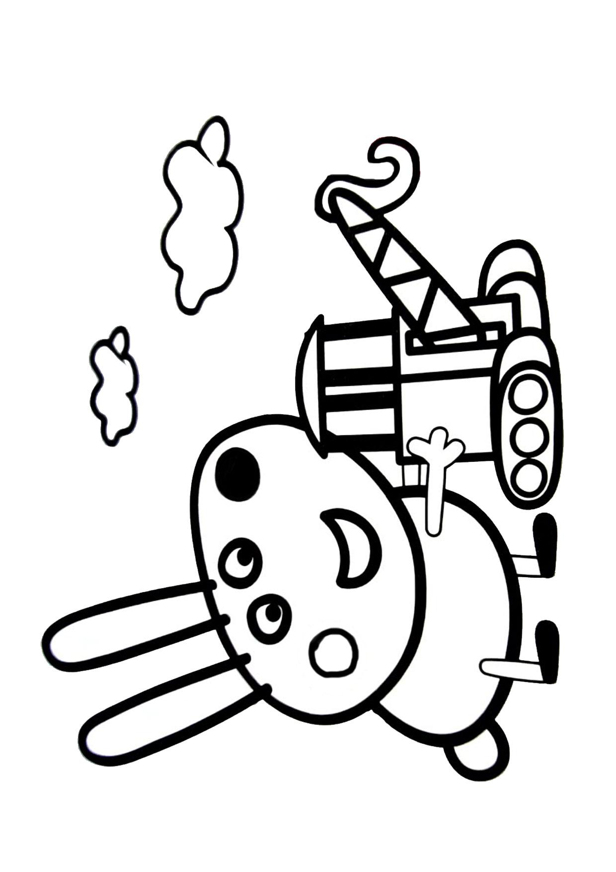 Disegno Peppa Pig da colorare 41