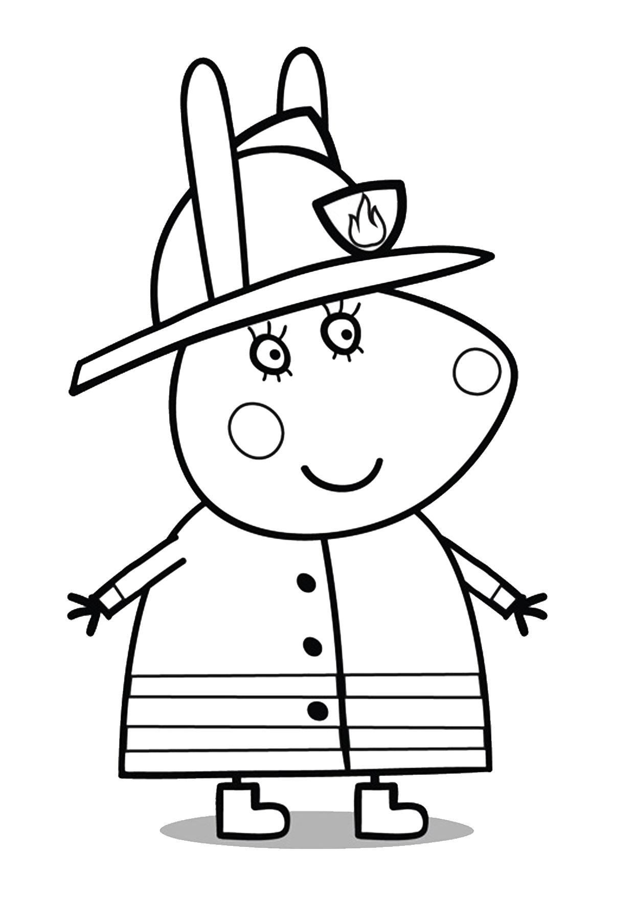 Disegno Peppa Pig da colorare 50