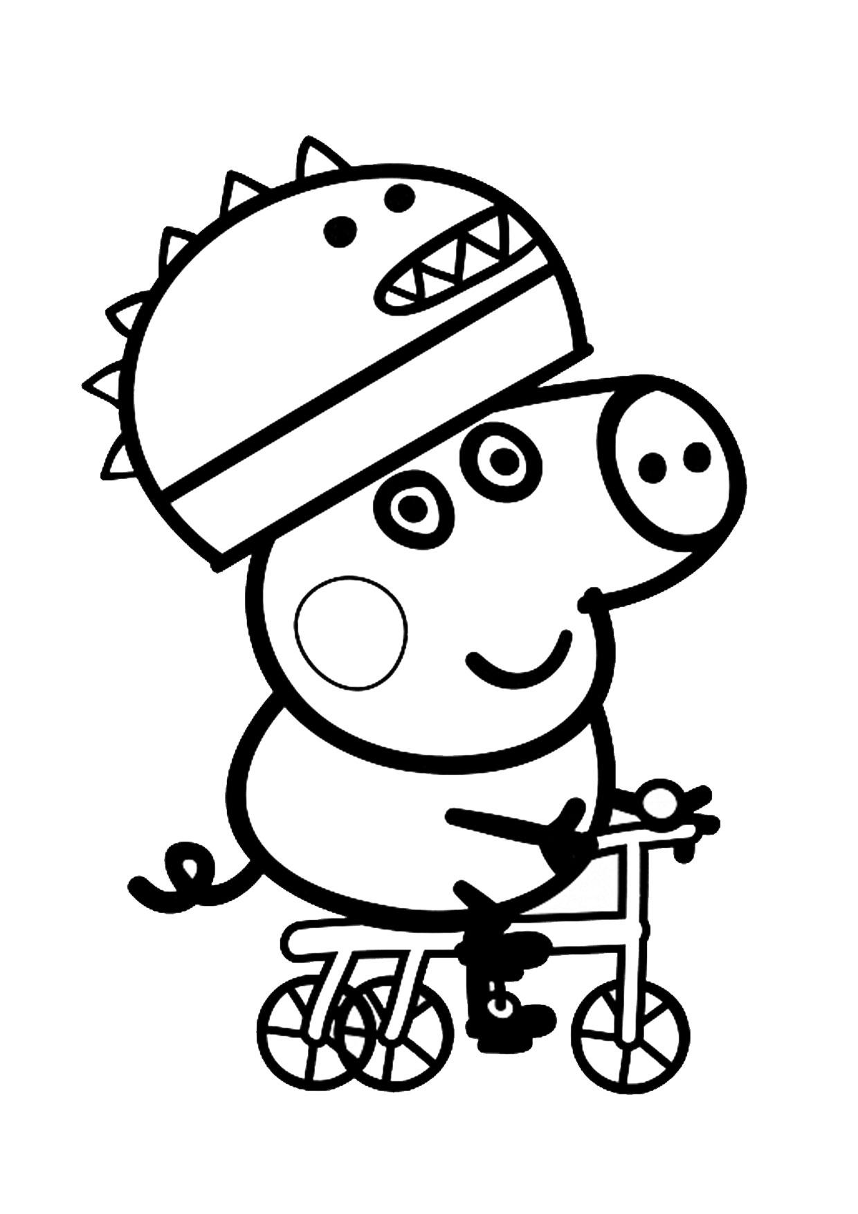Disegno Peppa Pig da colorare 51