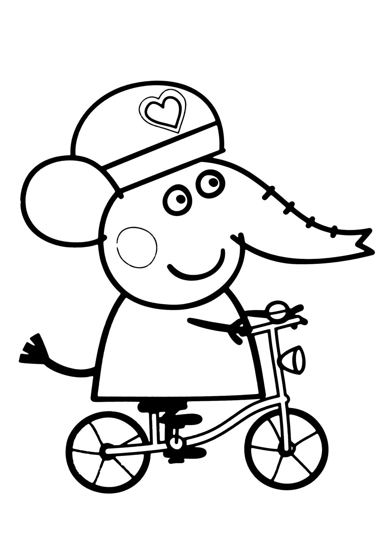 Disegno Peppa Pig da colorare 52