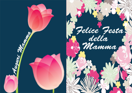 Immagine del secondo biglietto della Festa della Mamma