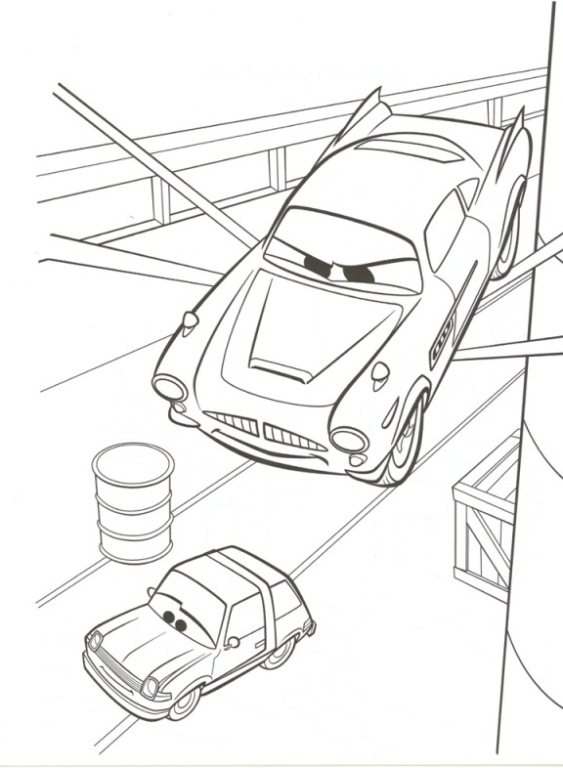 122 Disegni Di Cars 1 E 2 Da Stampare E Colorare Pianetabambini It