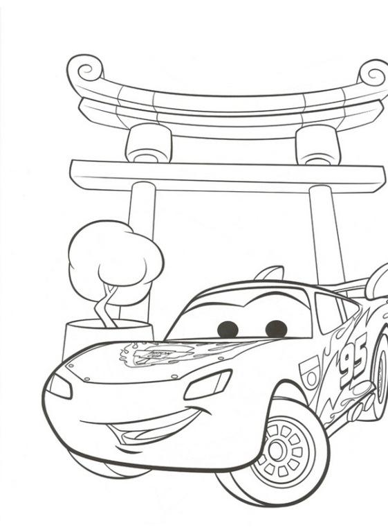 Disegni Da Colorare Di Cars 2 Gratis.122 Disegni Di Cars 1 E 2 Da Stampare E Colorare