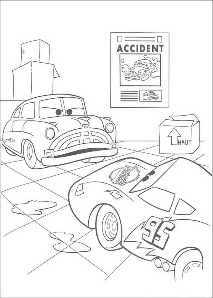 122 Disegni Di Cars 1 E 2 Da Stampare E Colorare Pianetabambini It