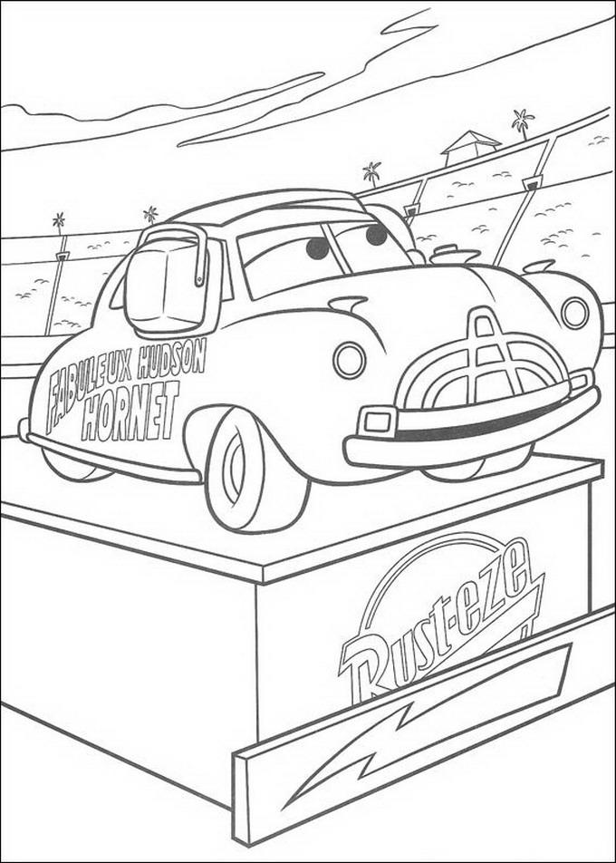 122 Disegni Di Cars 1 E 2 Da Stampare E Colorare Pianetabambiniit