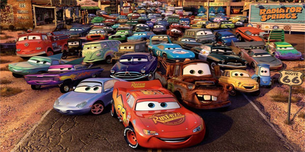 Disegni di Cars 1 e 2