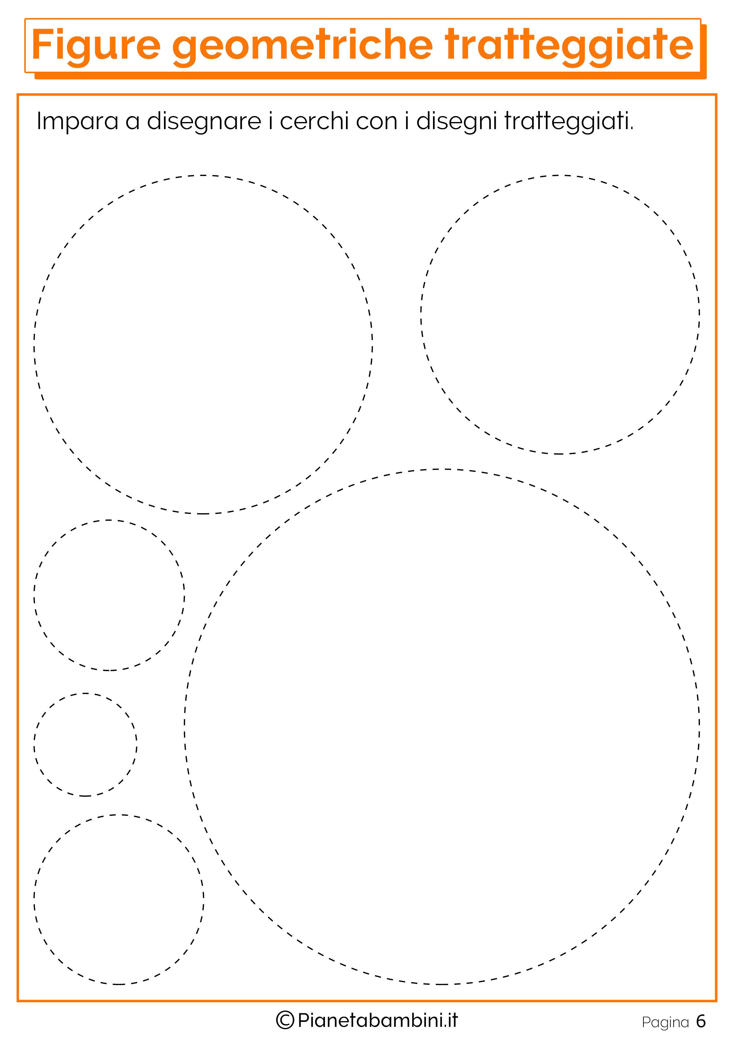 Imparare a disegnare le figure geometriche con i disegni for Disegni tratteggiati