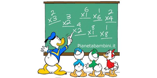 Esercizi di Matematica Moltiplicazioni