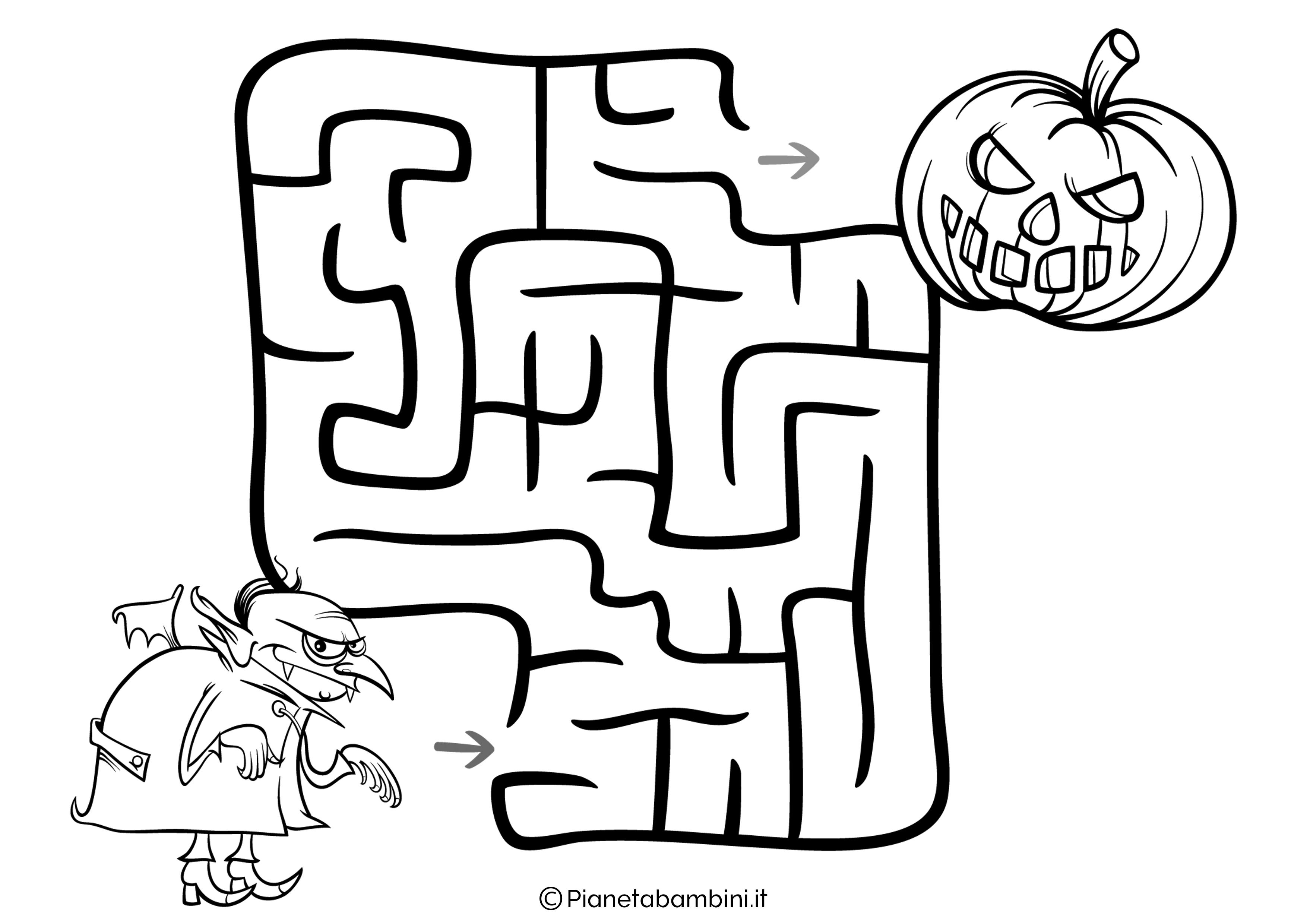 Labirinto facile 02