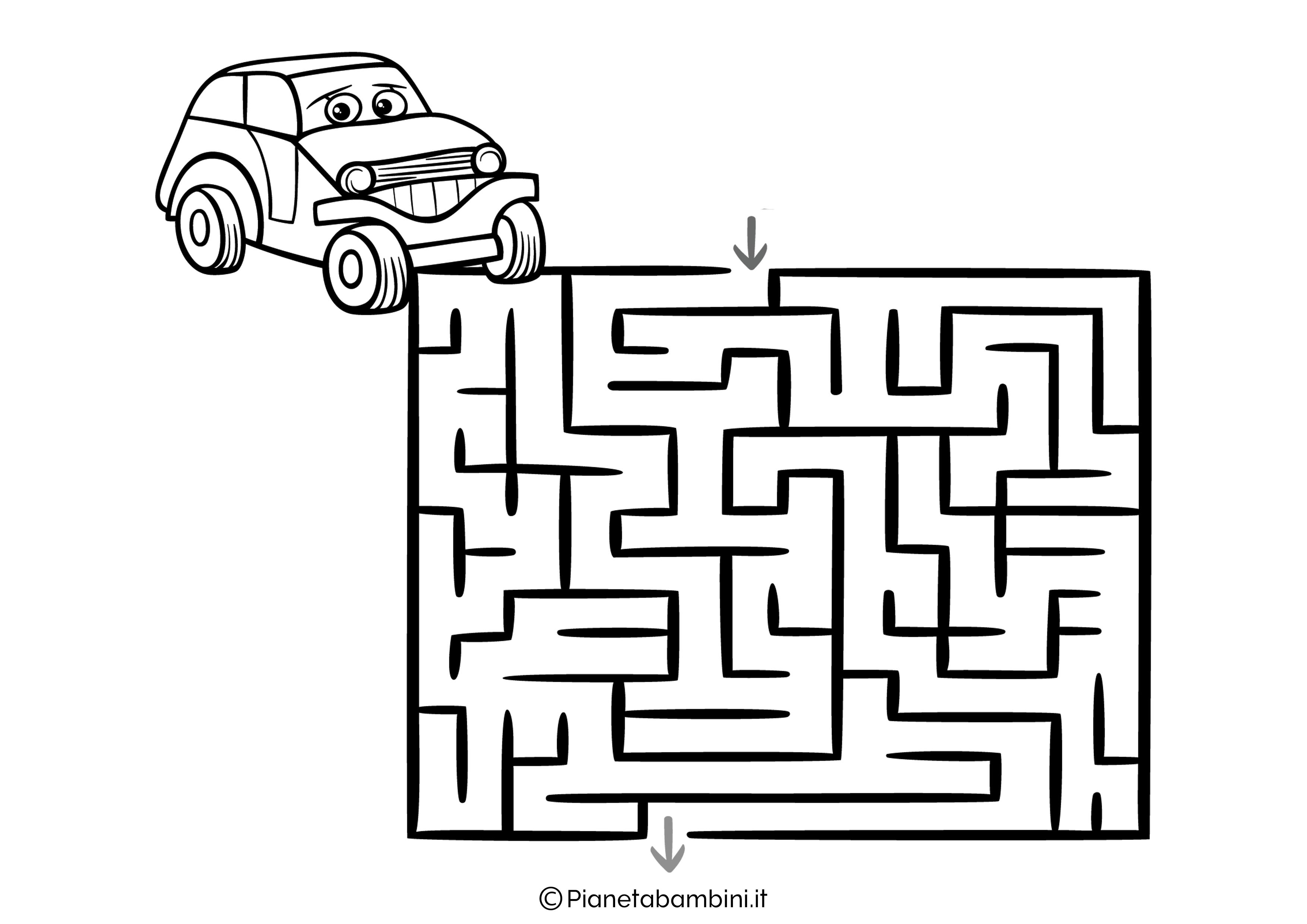 Labirinto facile 04