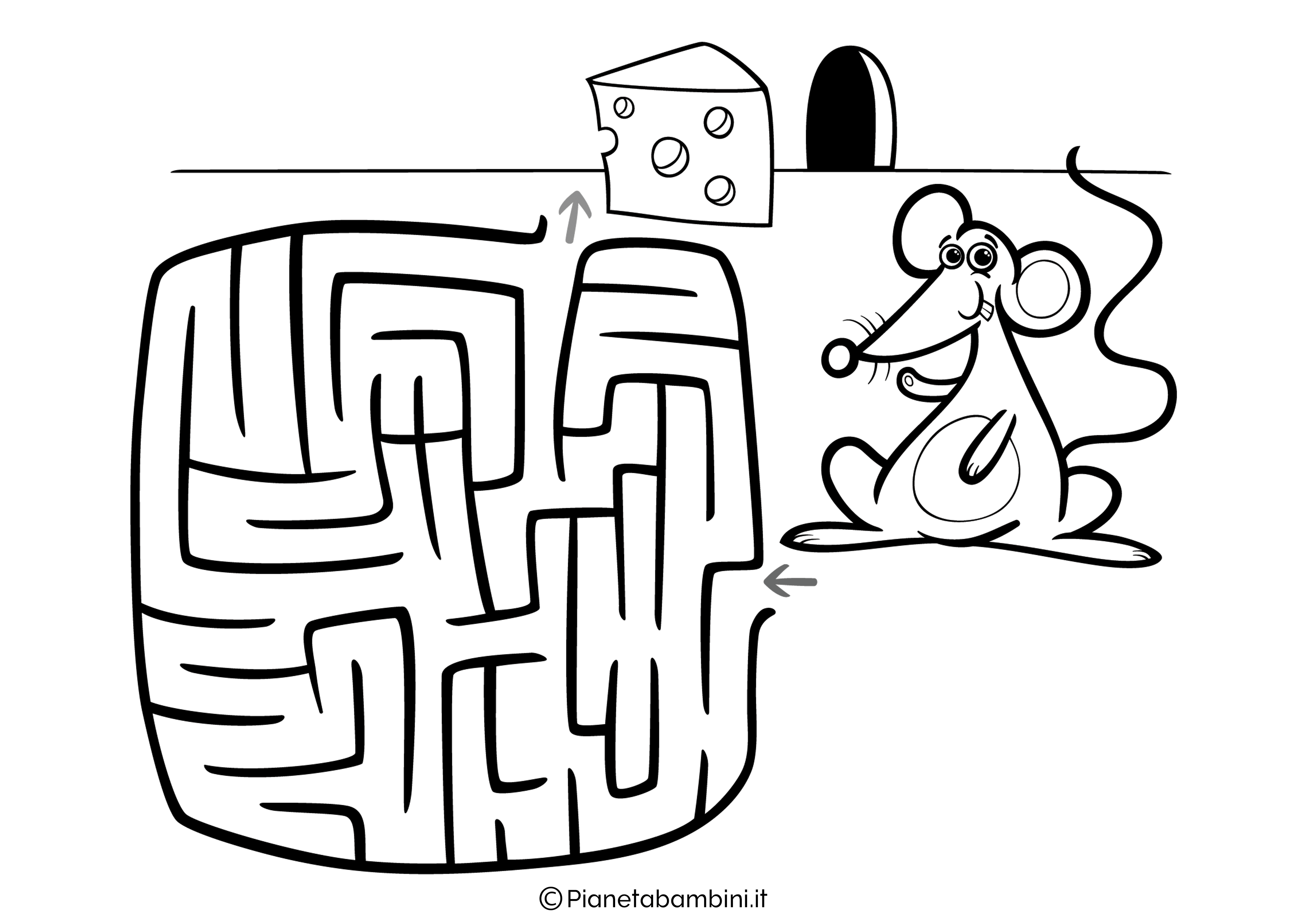 Labirinto facile 06