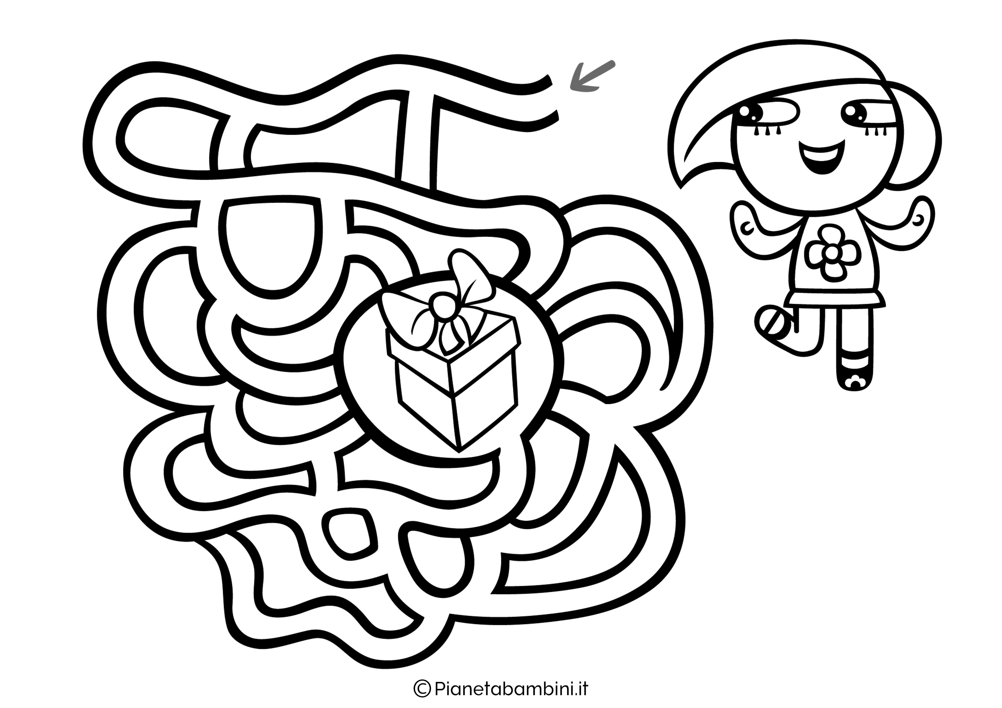Labirinto facile 08