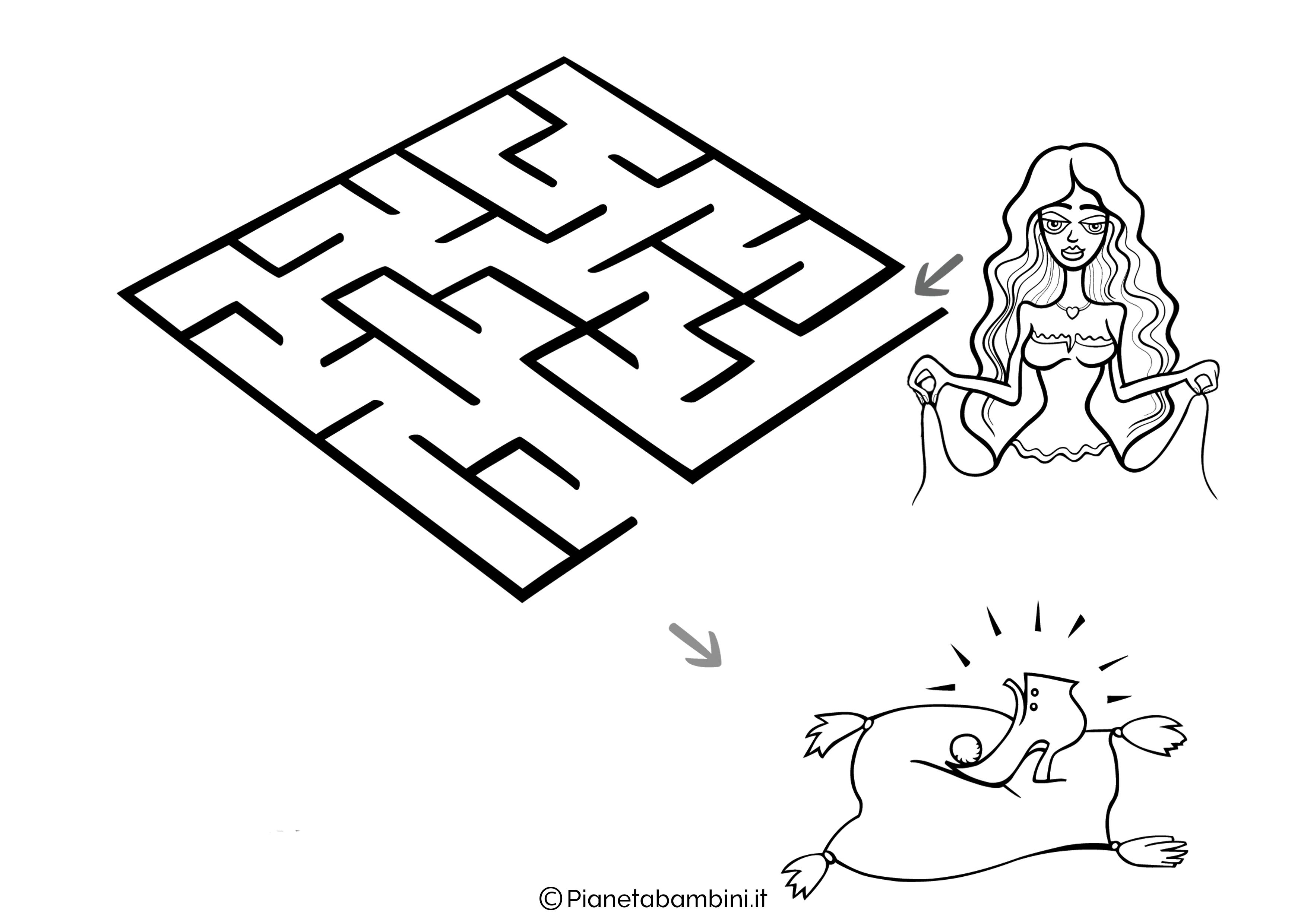 Labirinto facile 09