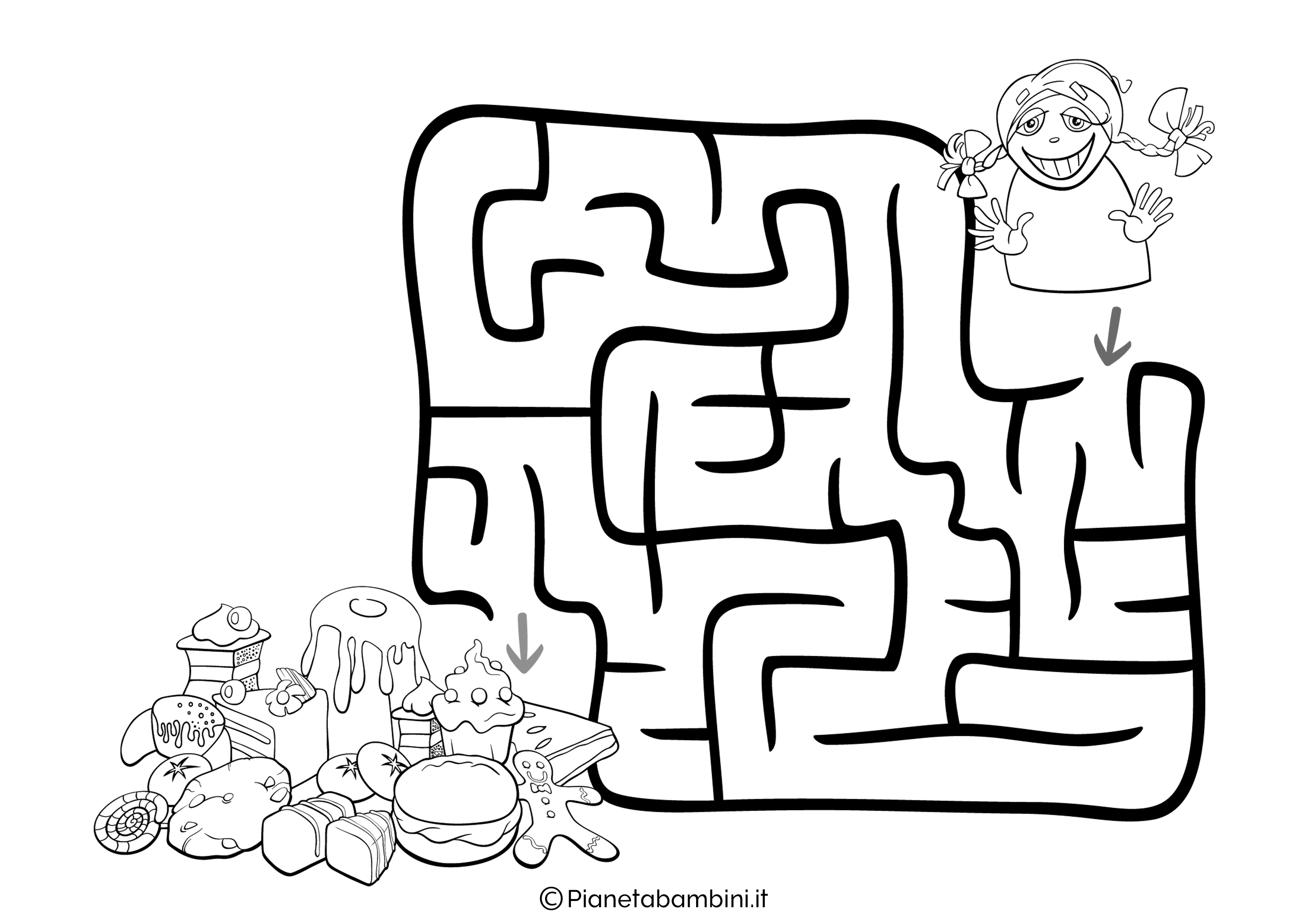 Labirinto facile 10