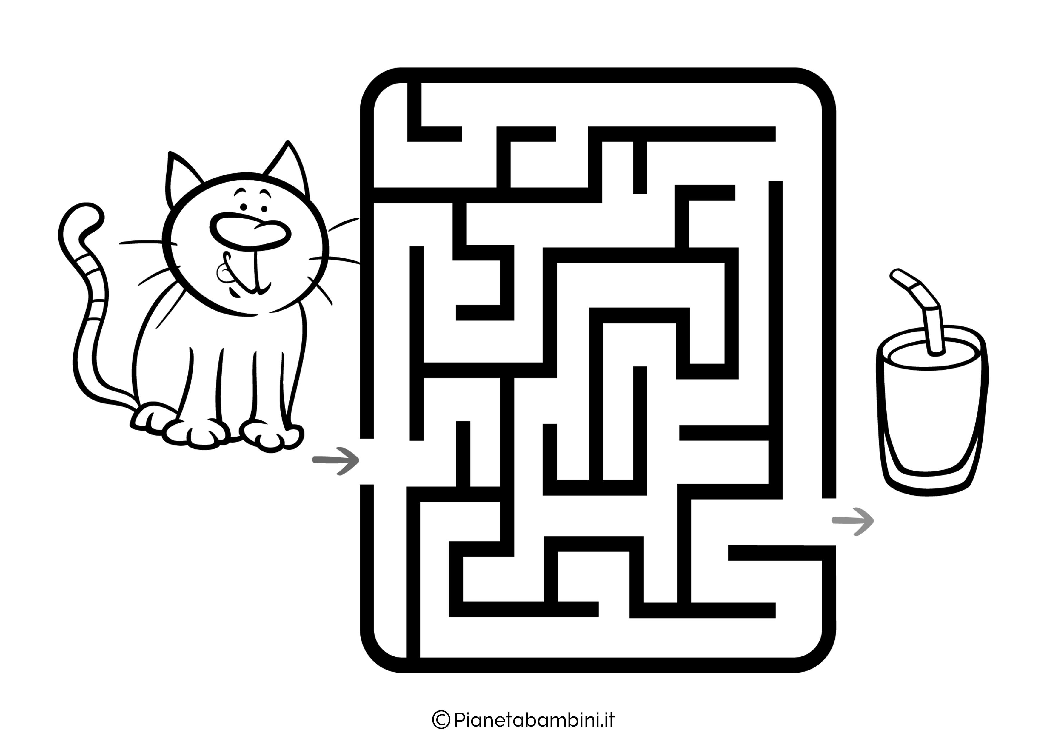 Labirinto facile 12