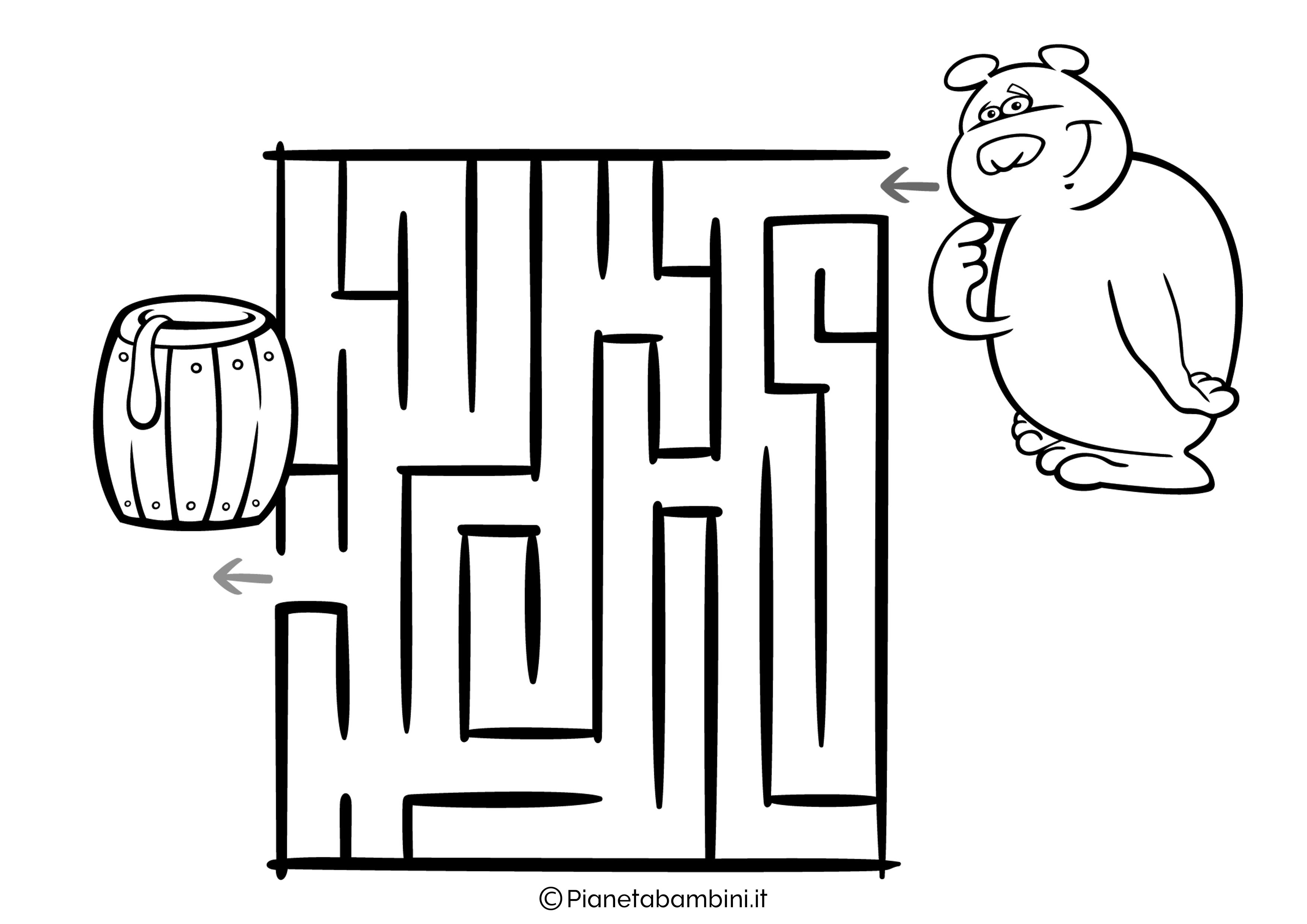 Labirinto facile 13
