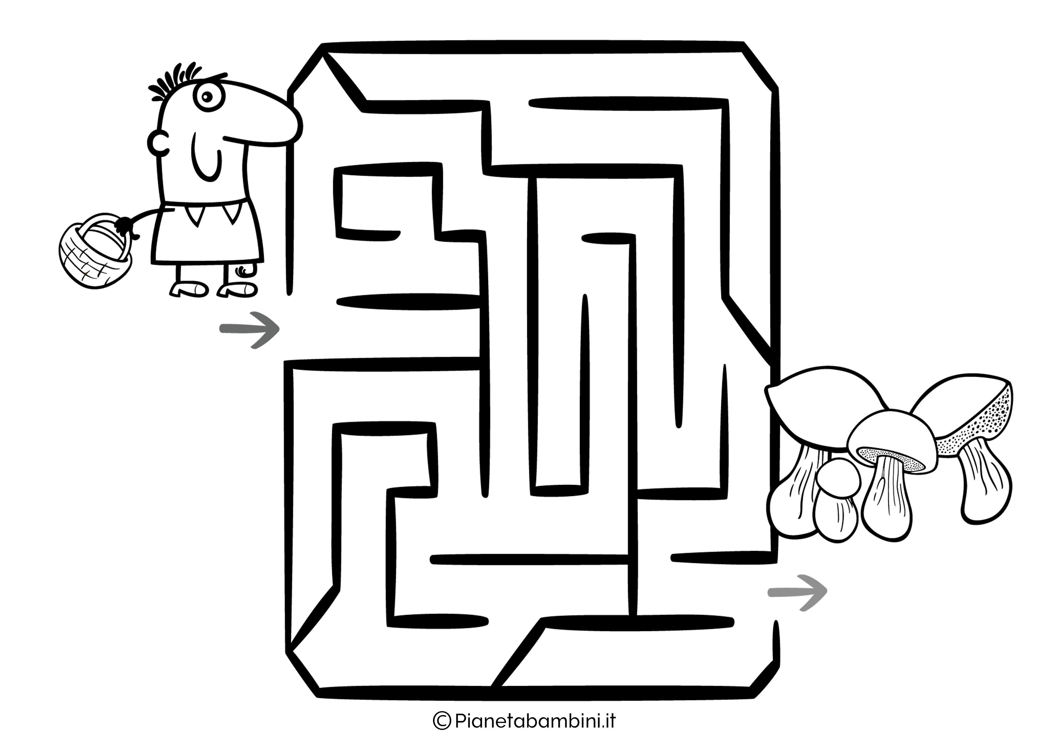 Labirinto facile 14