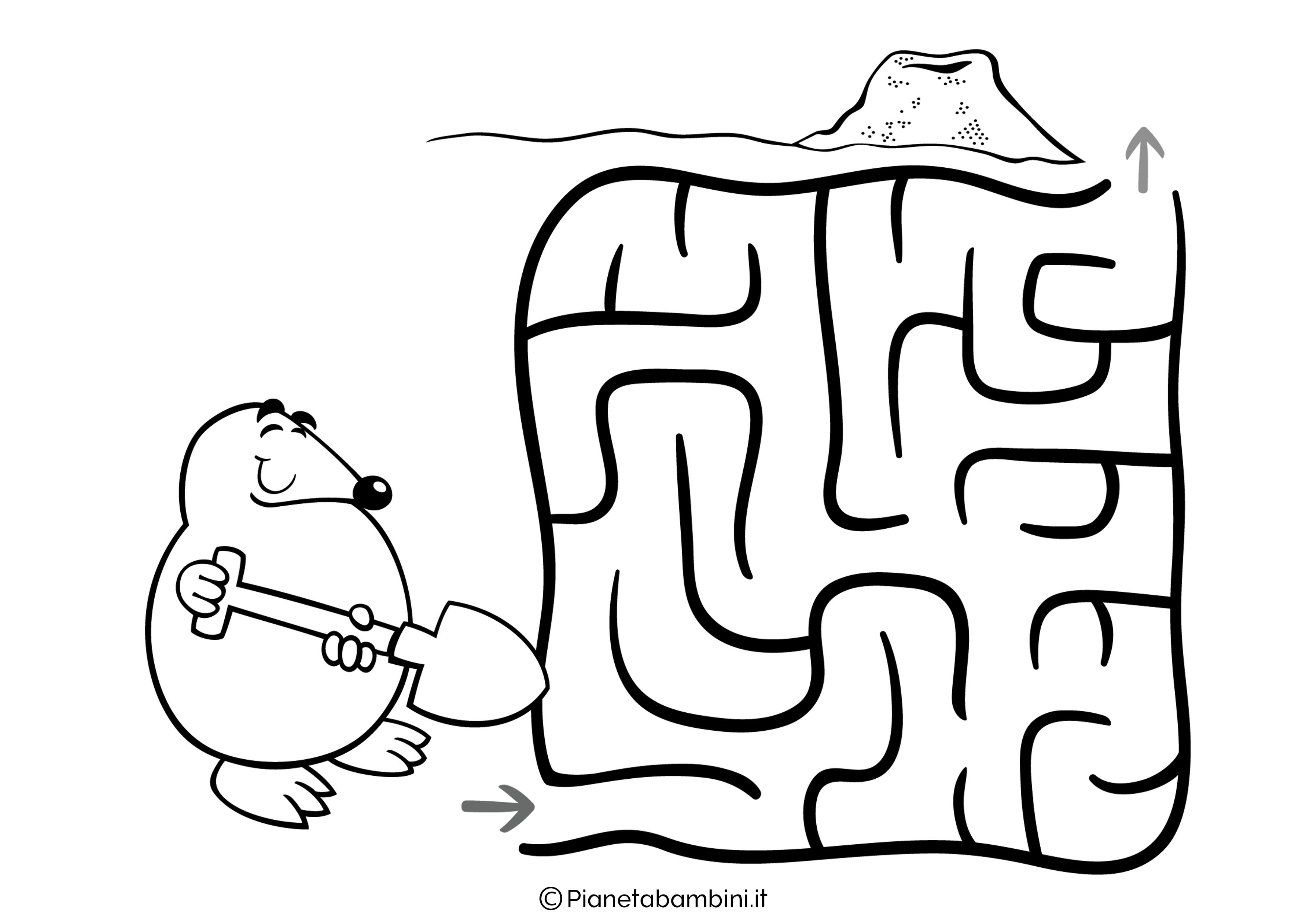 Labirinto facile 15