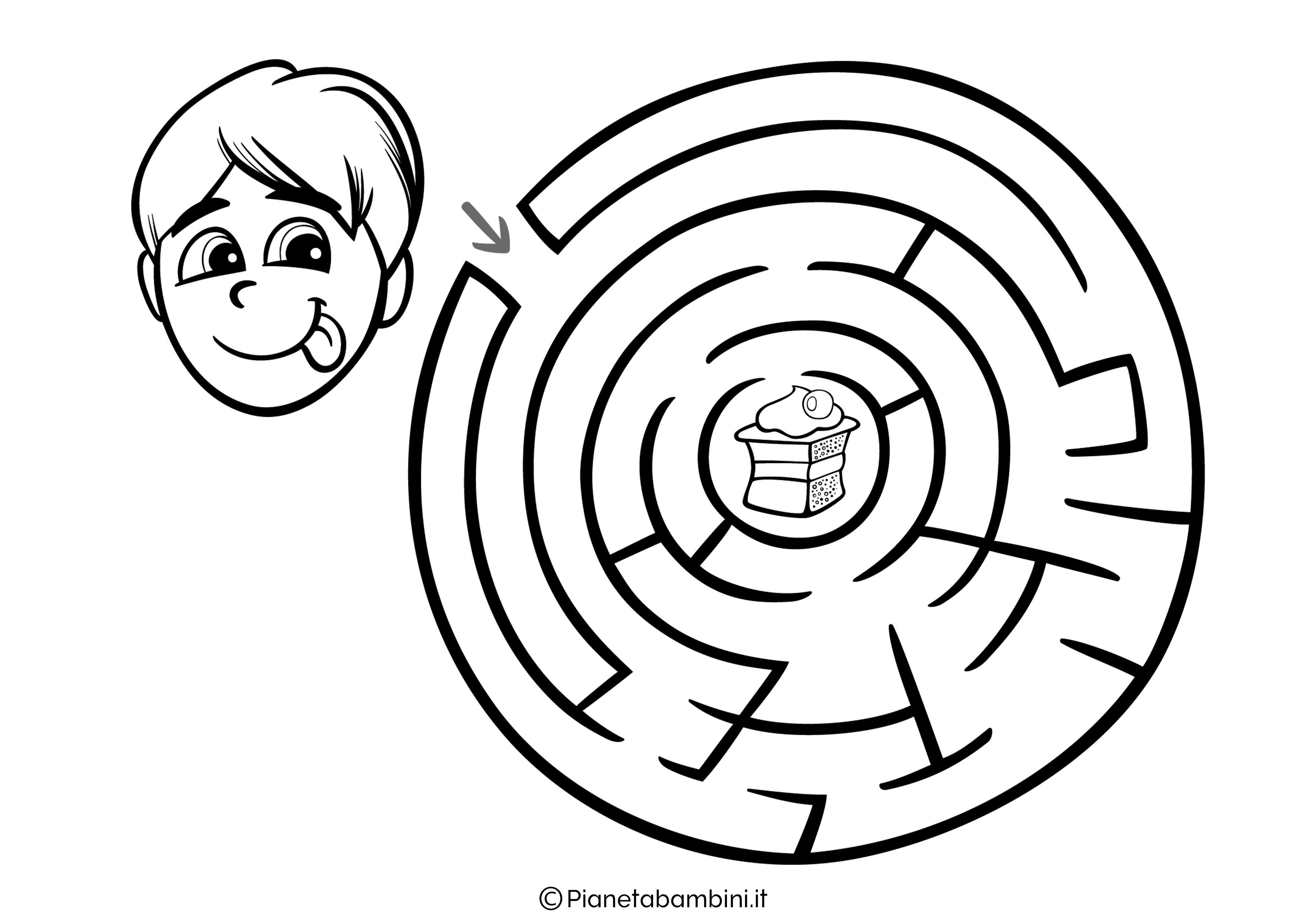 Labirinto facile 16
