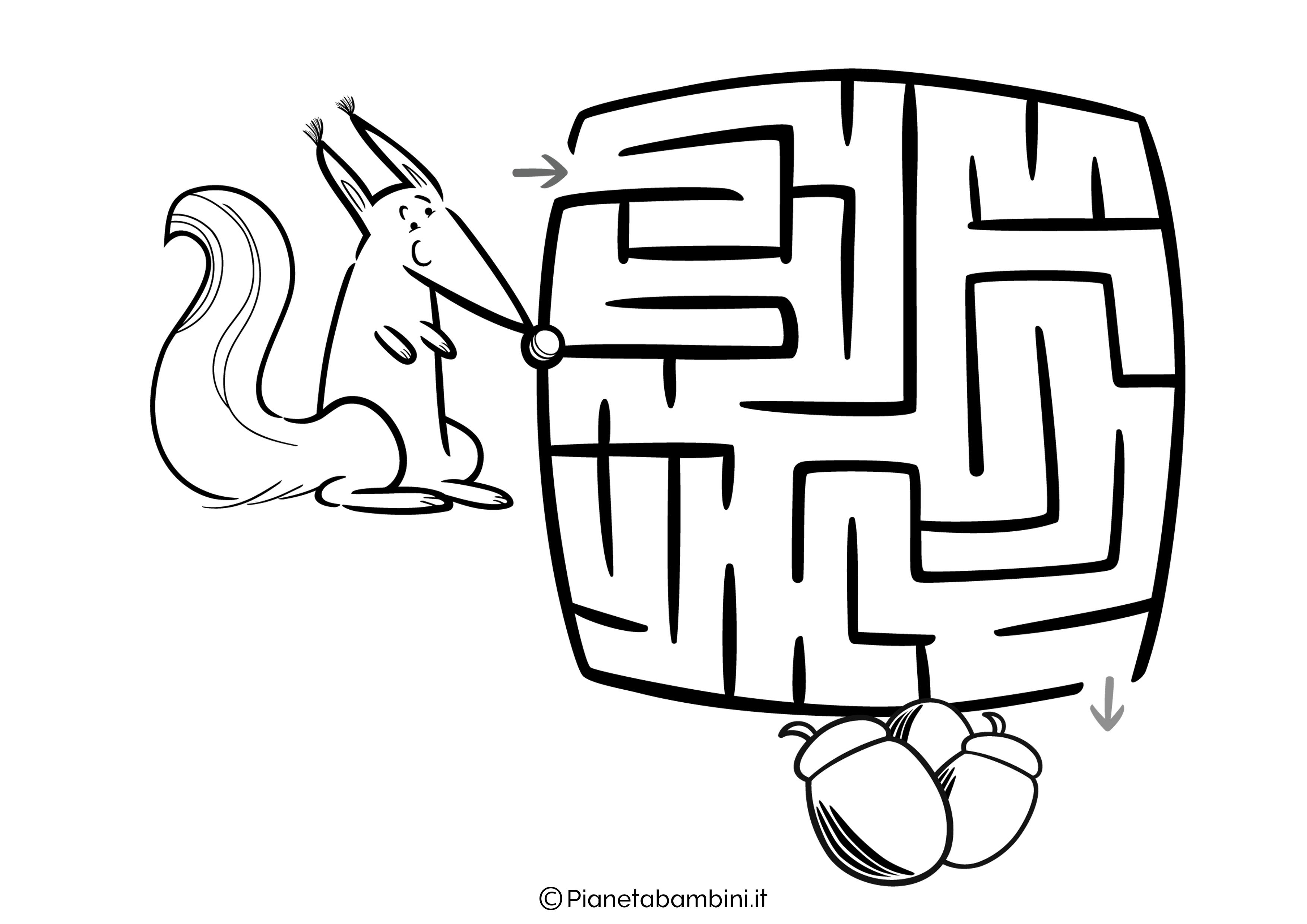 Labirinto facile 17