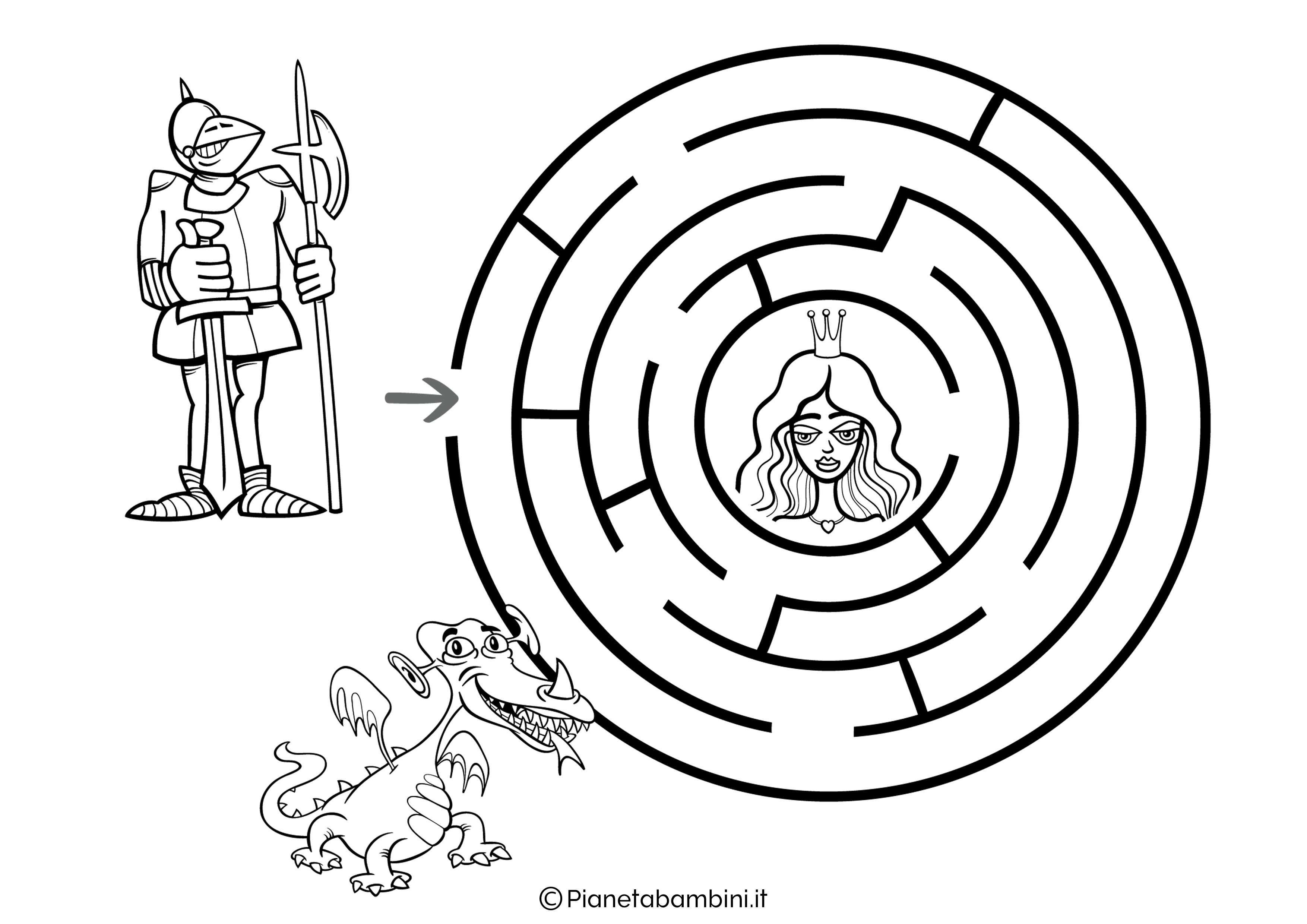 Labirinto facile 18