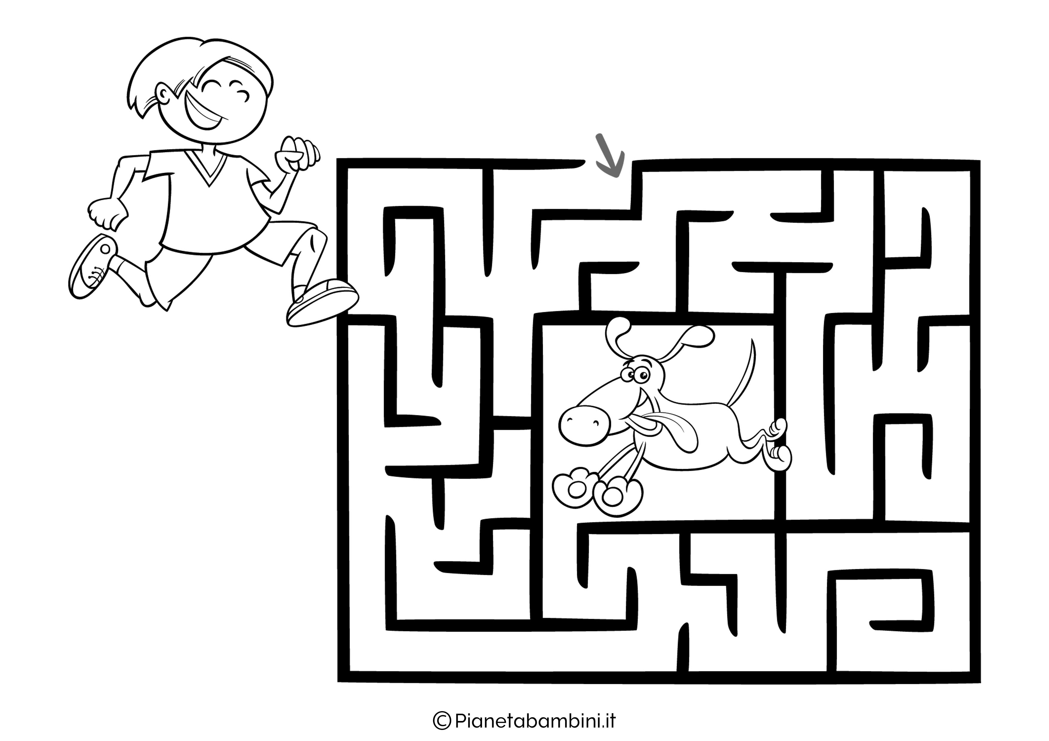 Labirinto facile 19