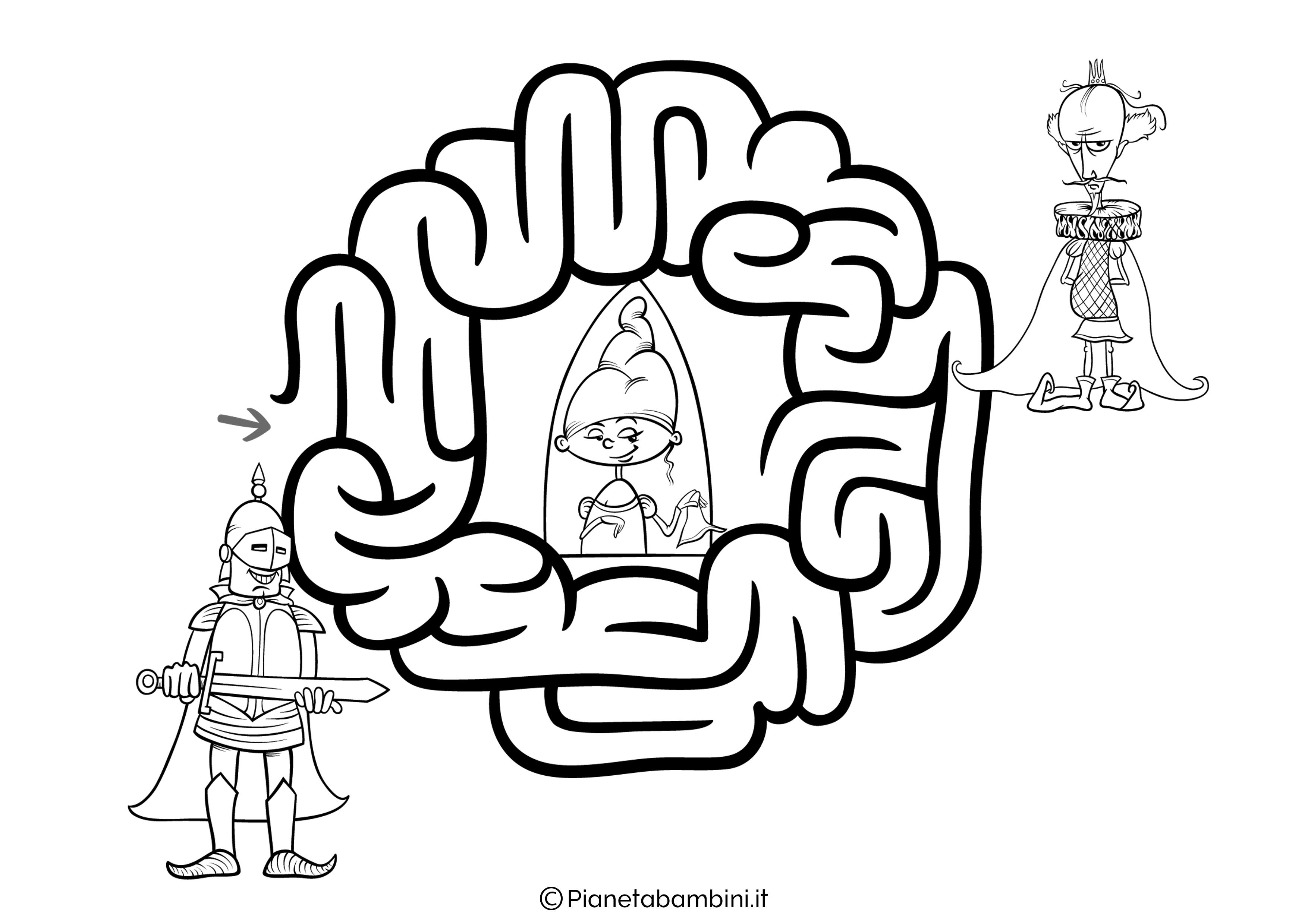Labirinto facile 21