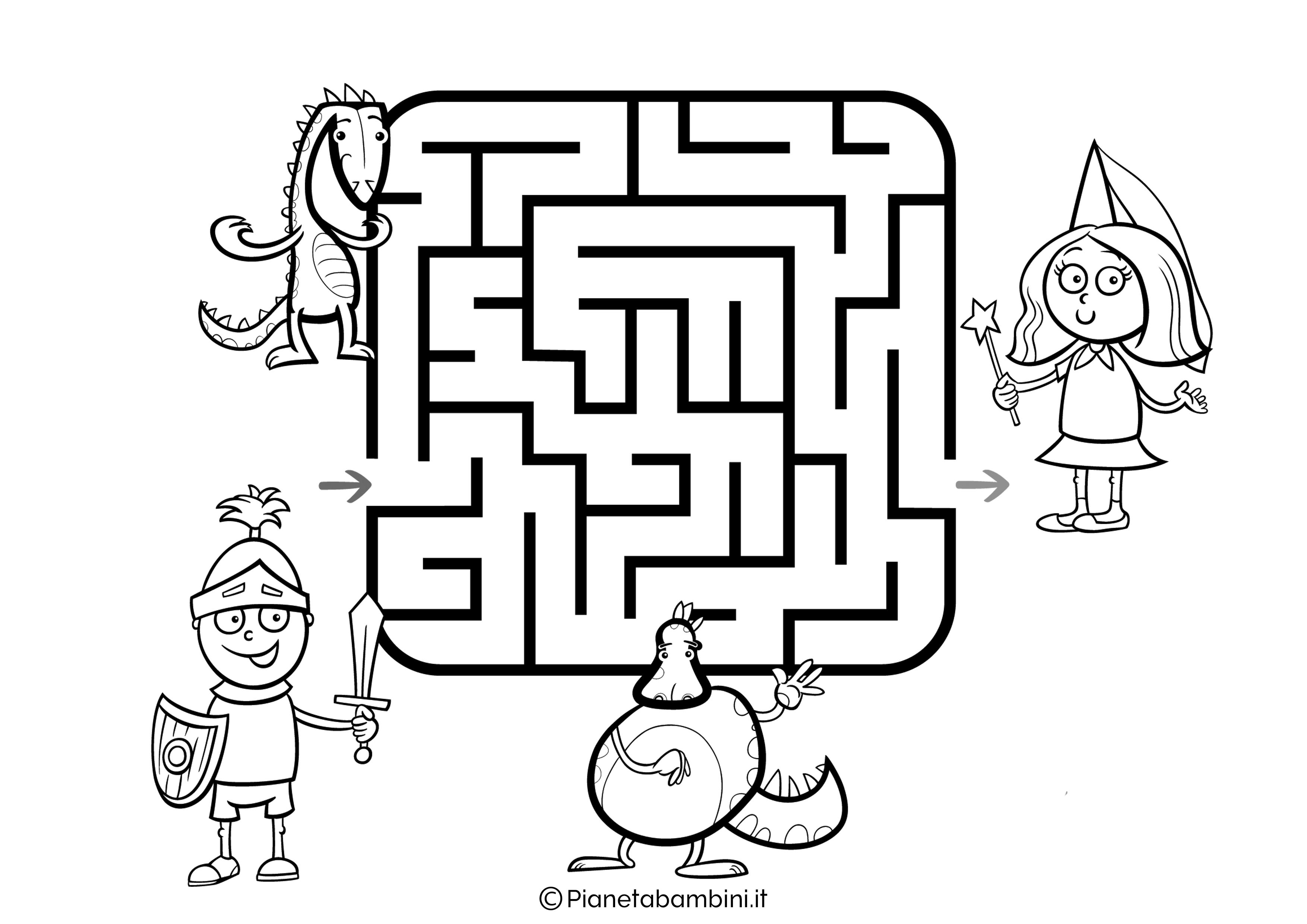 Labirinto facile 22