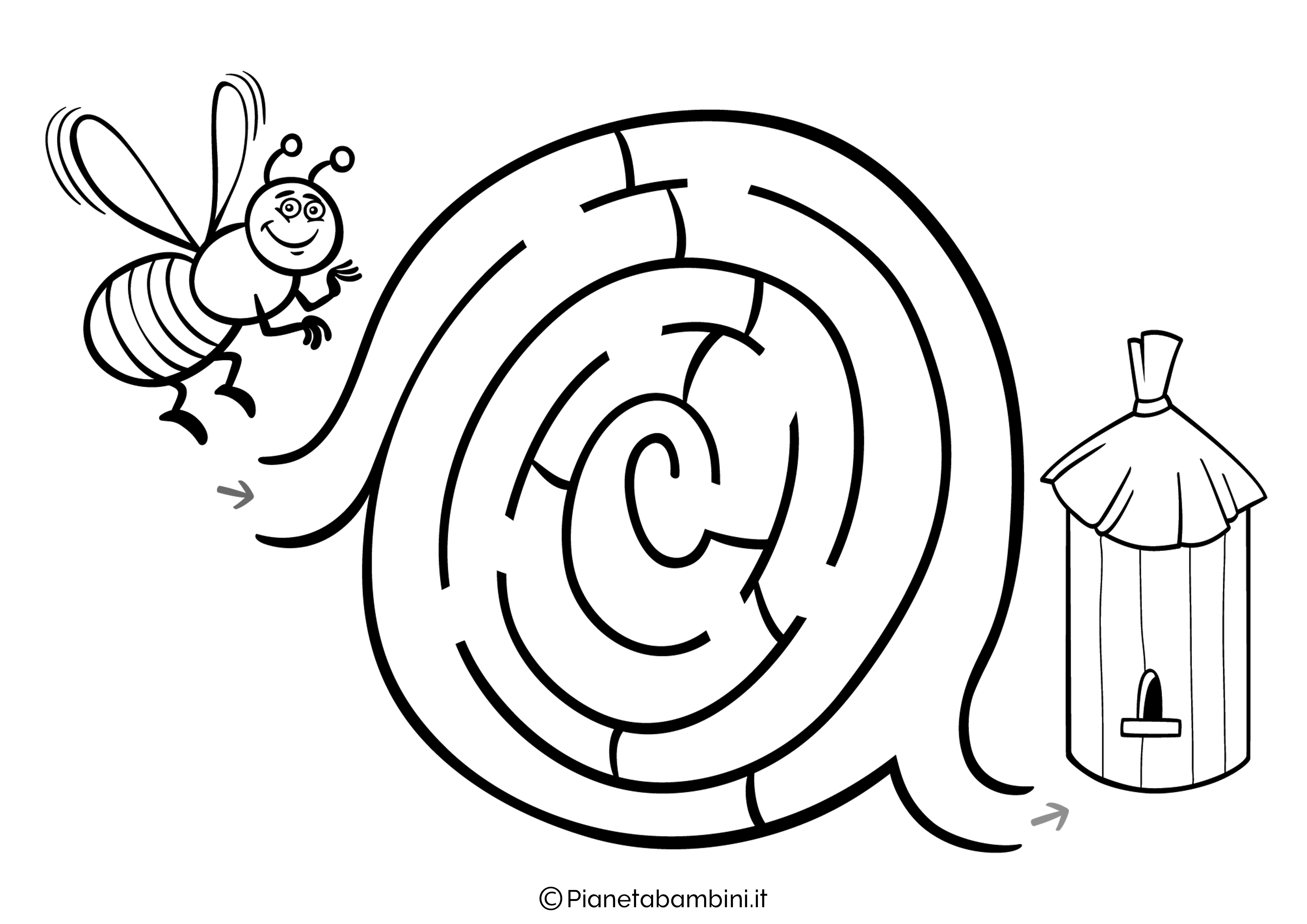 Labirinto facile 26