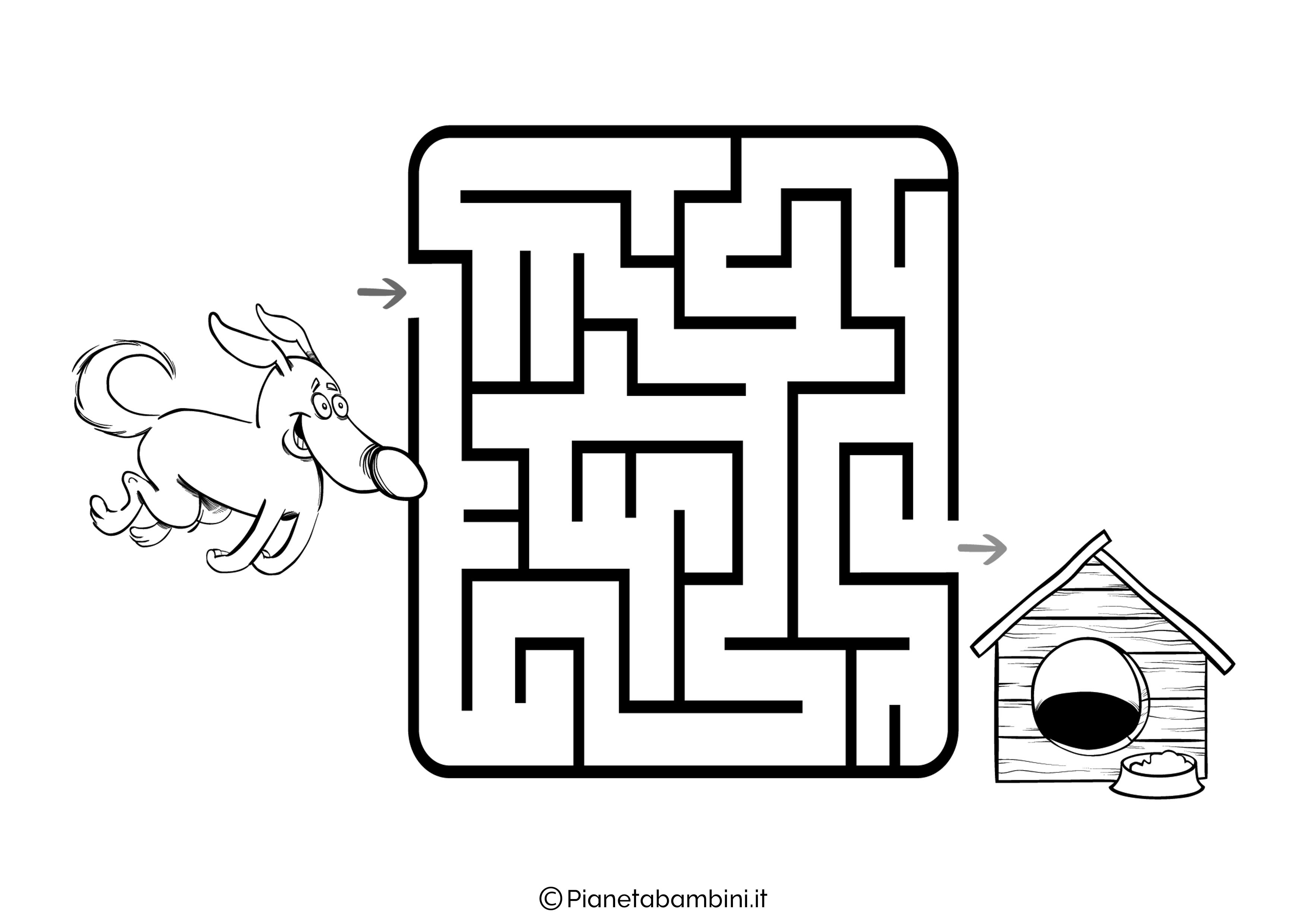 Labirinto facile 32