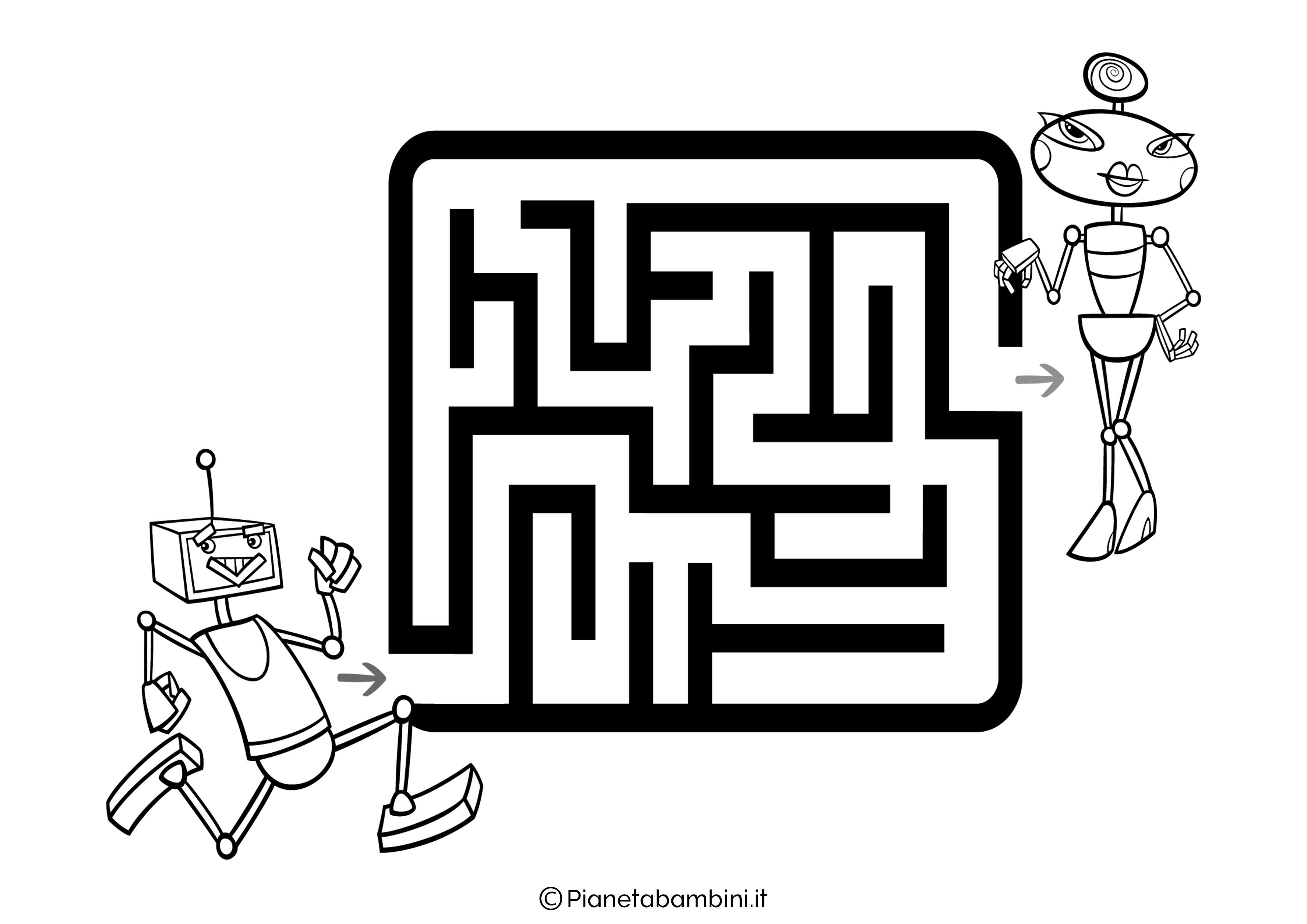 Labirinto facile 33