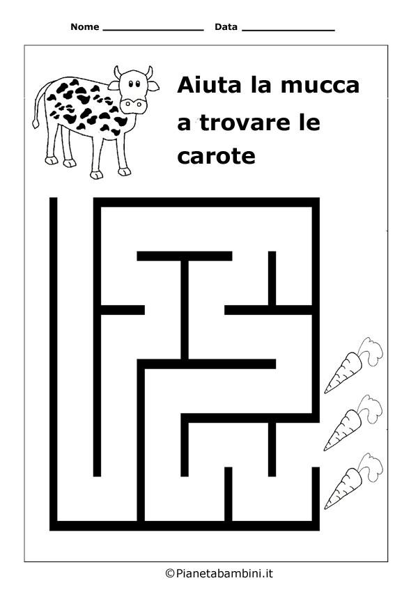 Labirinto-Mucca-Carote