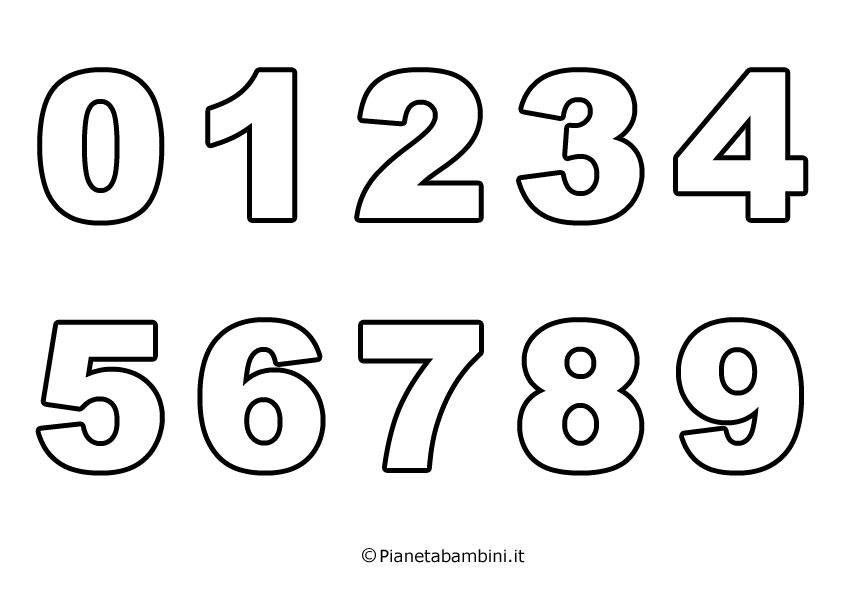 Disegni Da Colorare Coi Numeri